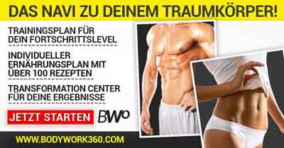 Bodywork 360 Muskelkater erste Hilfe