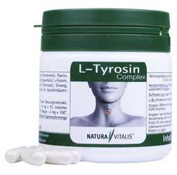 L-Tyrosin-Complex Kapseln ausprobieren
