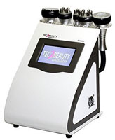 Professionelles leistungsstarkes Kombigerät - Kavitation/Ultraschall & Radiofrequenz (5MHZ) inkl. Spezialgel