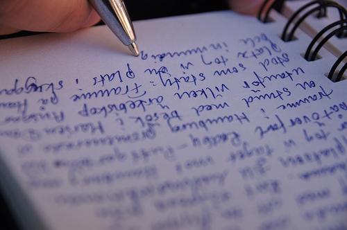 writing Foto