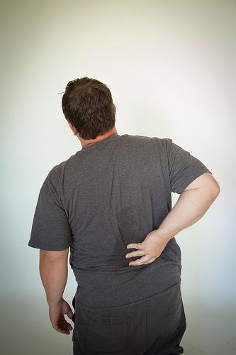 back pain Foto