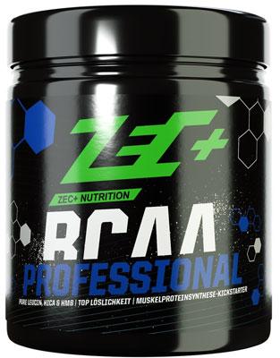Bei Amazon ansehen: ZEC+ BCAA Professional | anabole Aminosäuren-Formel mit L-Leucin + HMB + HICA | perfekt für Hochleistungssportler nach dem Training geeignet
