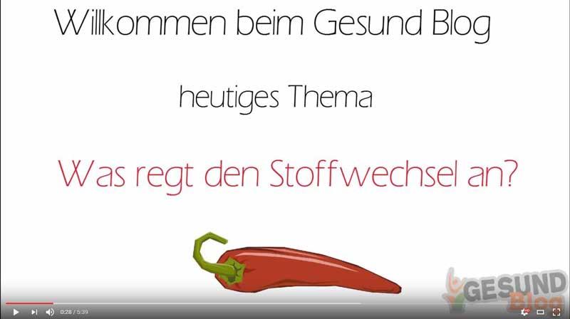 Video: Was regt den Stoffwechsel an?