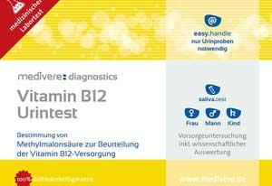 Medivere B12 Vitamin Test bei Amazon kaufen