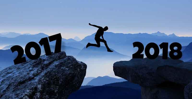 Wir wünschen Dir ein frohes neues Jahr 2018