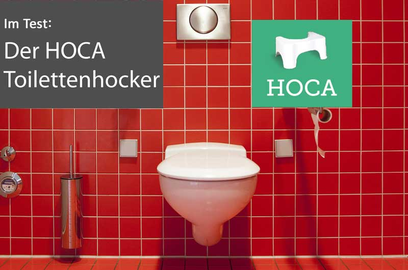 Produkttest: HOCA Toilettenhocker Original